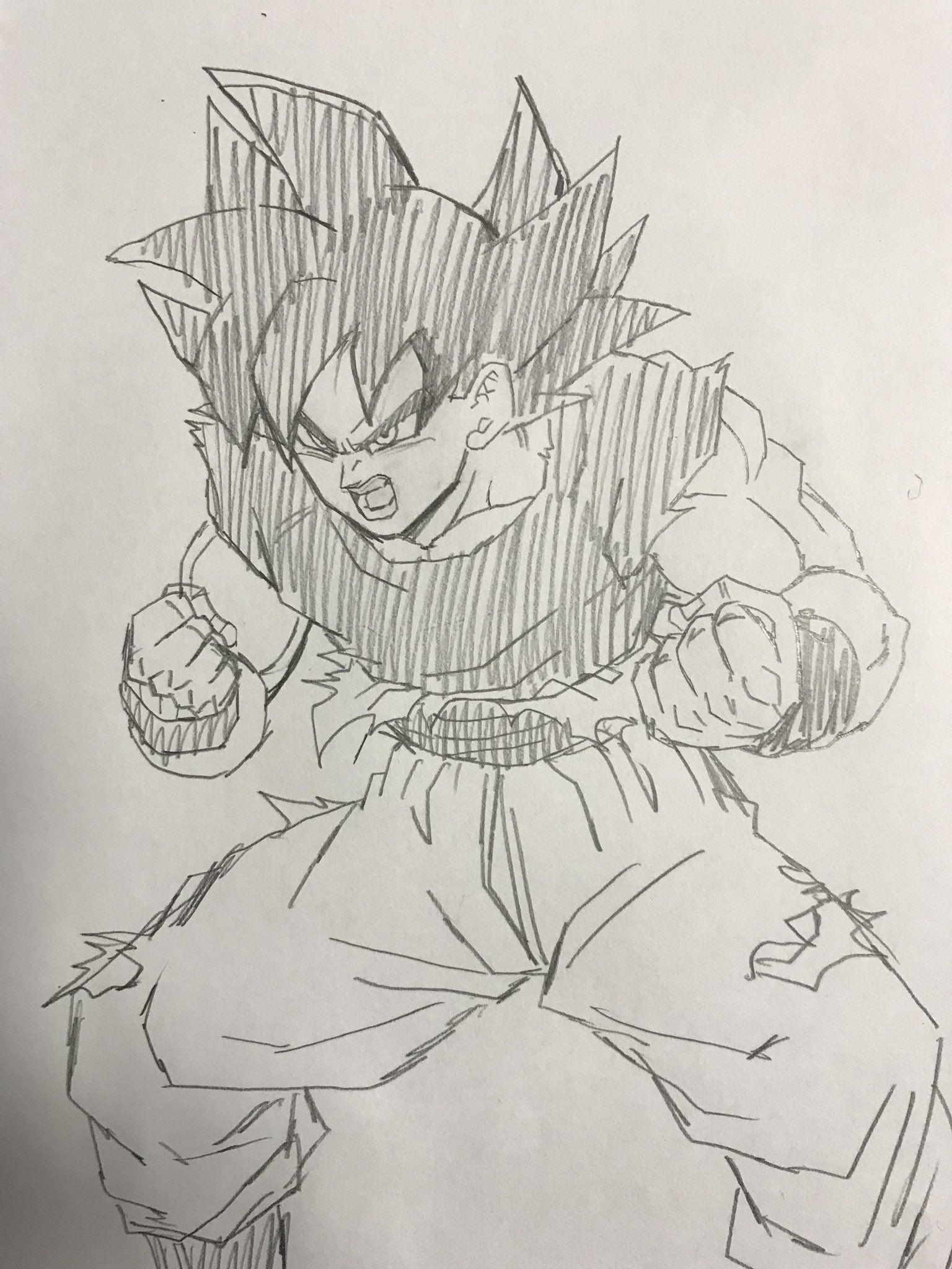 Großartig Super Saiyan Goku Malvorlagen Zeitgenössisch - Entry Level ...