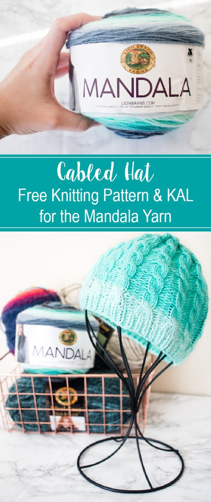 Cabled Hat - Free Knitting Pattern & KAL - Week ONE | Christmas ...