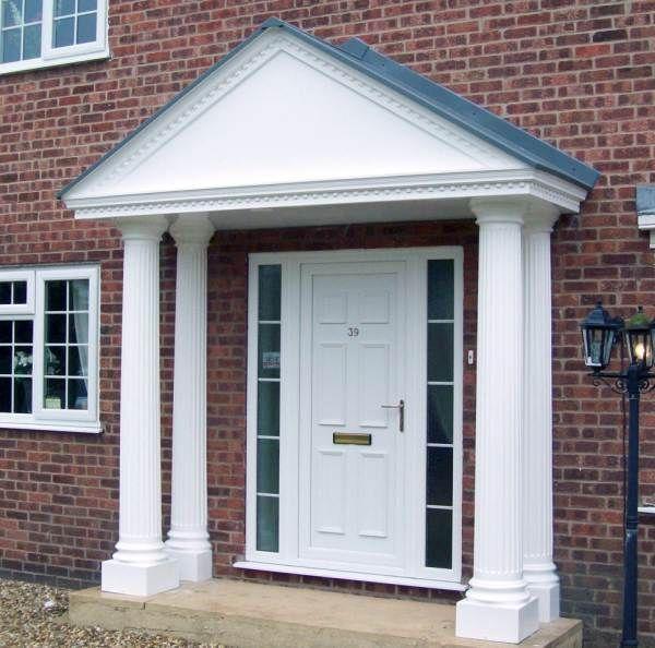 Image result for front door canopy with pillars & Image result for front door canopy with pillars | DG Front Door ... Pezcame.Com