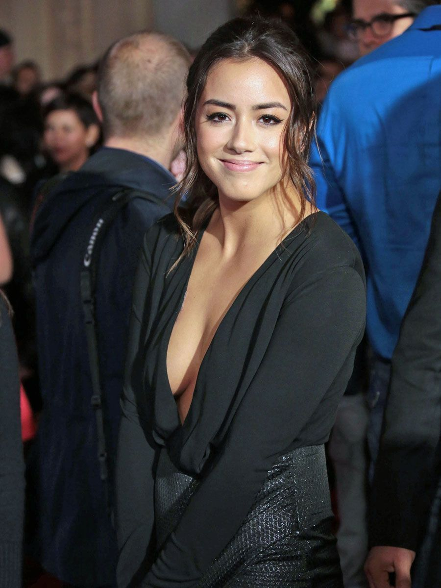 Chloe bennet cleavage naked (47 photos), Paparazzi Celebrity pic