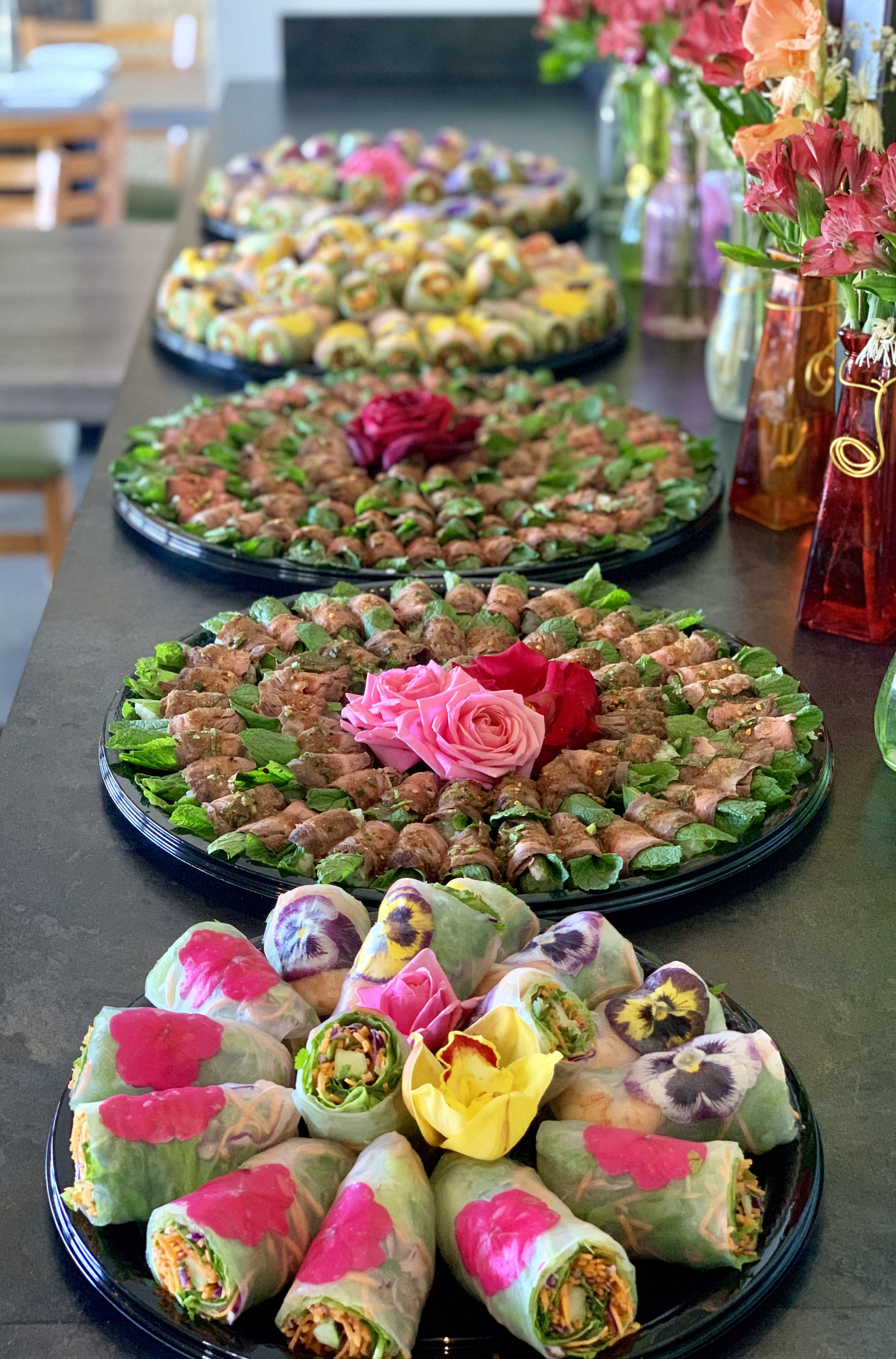 Elegant Asian Food Ideas For Party