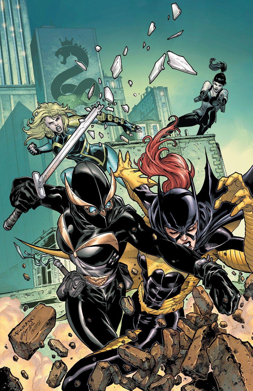 Gotham Spoilers Court Of Owls Comics Dc Comics