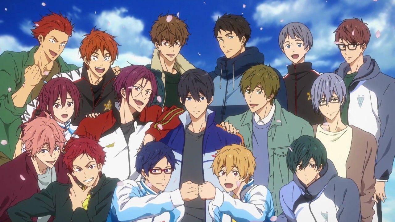 Free Drive To The Future Free Anime Free Iwatobi Anime