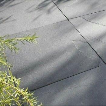 Dalle noire leroy merlin gaya ardoise 60x60 Extérieur Pinterest