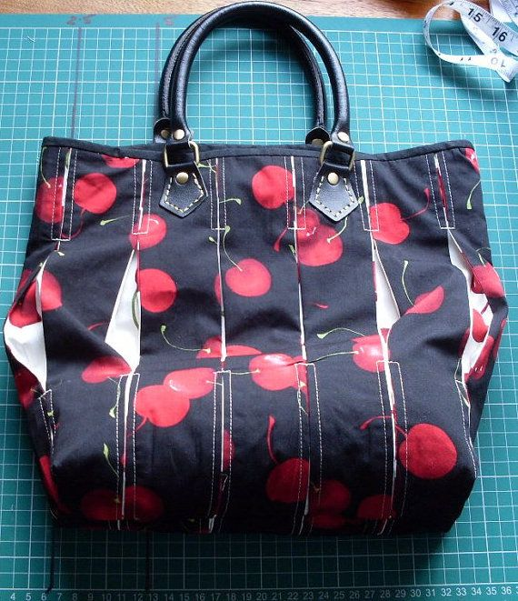 OOAK Blackforest Patchwork Handbag 10x11x3 by fionascardsandgifts, £35.00