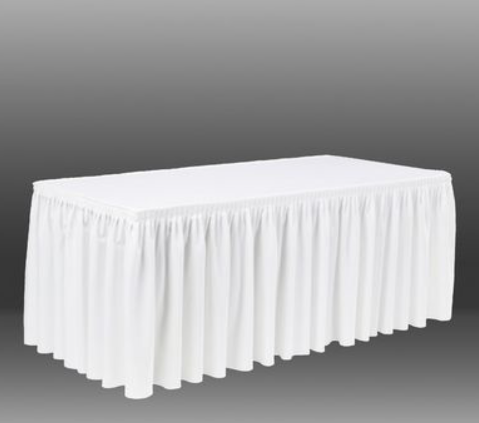 Linen Table Skirting Symphony Events Hire Or Rent Party