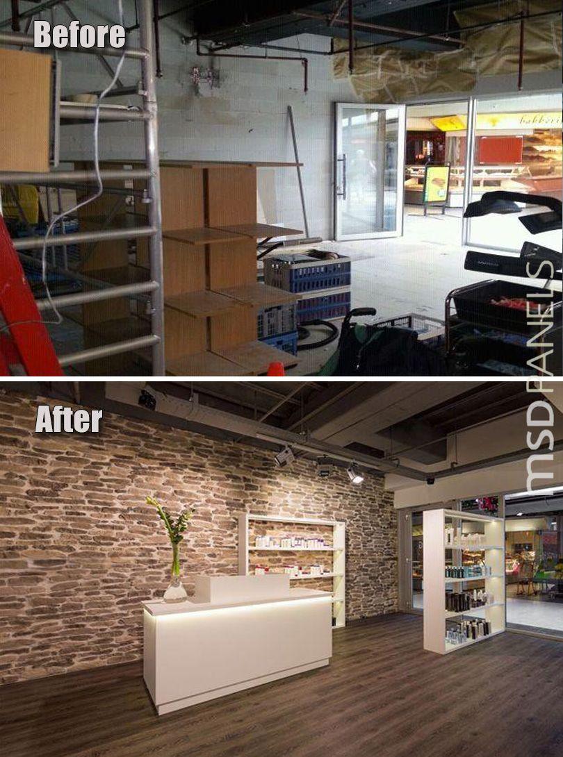 Modern hair salon decorating ideas new salon ideas - Paneles decorativos ikea ...