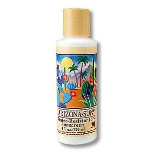Sun Care Spf 30 Waterproof Sunscreen Sunblock 4 Oz From Arizona Sun Sunscreen Spf Sunscreen Best Suntan Lotion
