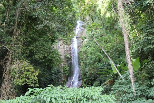 Cachoeira Toque-Toque Grande, em São Sebastião. Visite BrasilGuias