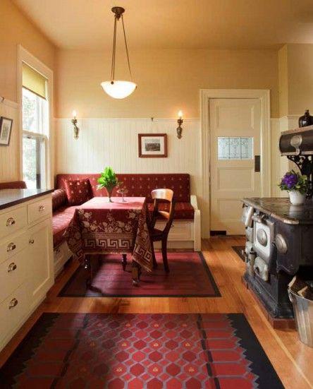 1920s Kitchen Curtains: 1920s Kitchen, 1920s House, Home