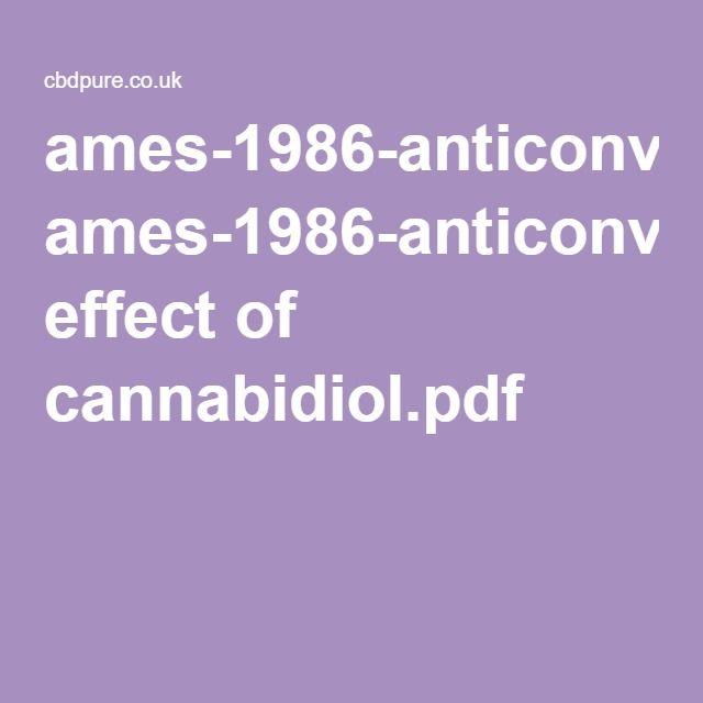 ames-1986-anticonvulsant effect of cannabidiol.pdf