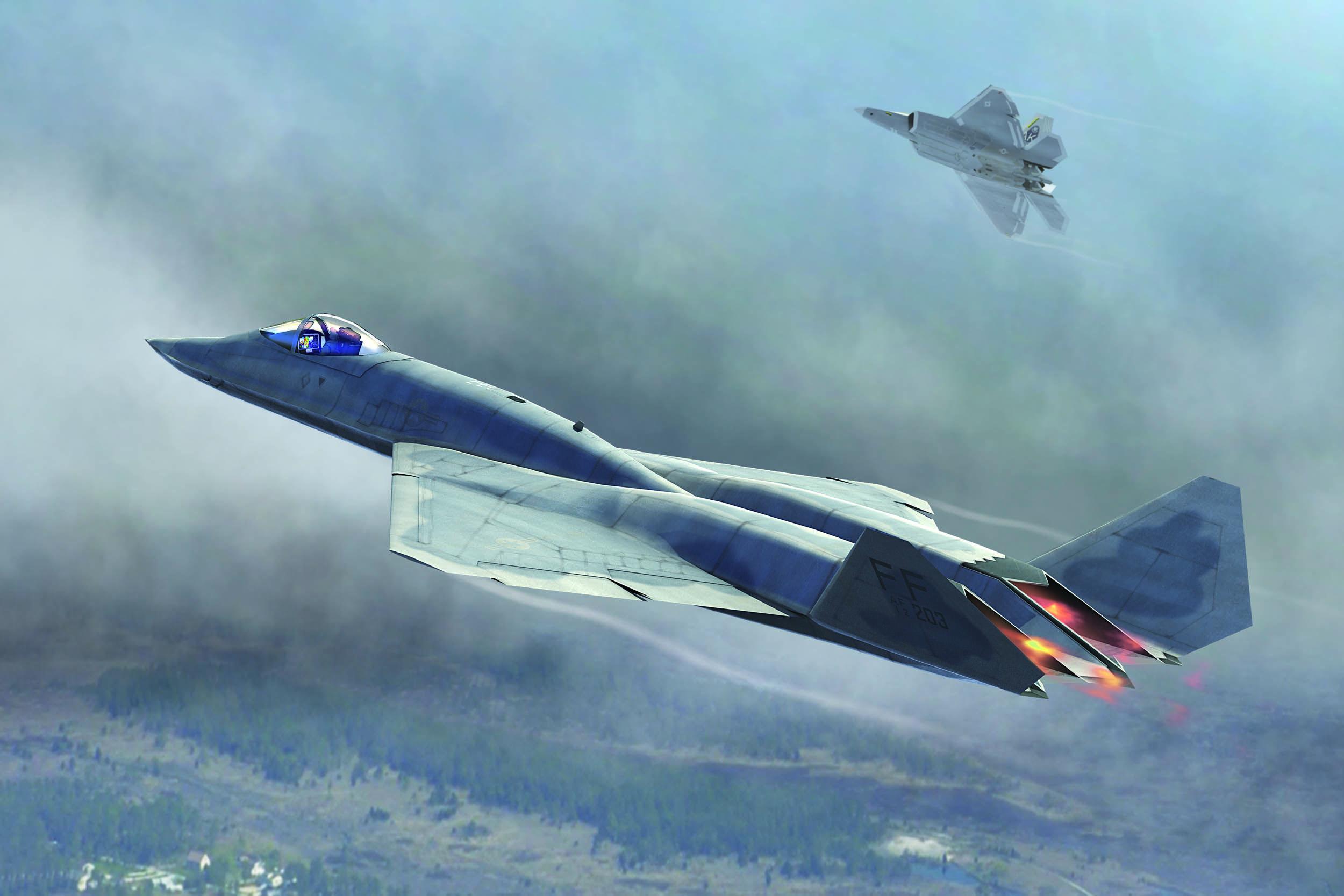 The Northrop/McDonnell Douglas YF-23 was an American single-seat, twin