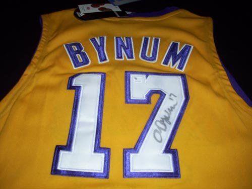 cc874632b GAI Authentic Andrew Bynum Autograph Los Angeles Lakers Jersey GAI  Authentic Andrew Bynum Autograph Los Angeles Lakers Jersey. This item will  come with a ...