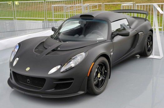 Great Lotus Exige Matte Black Final Edition Makes Stealthy Debut