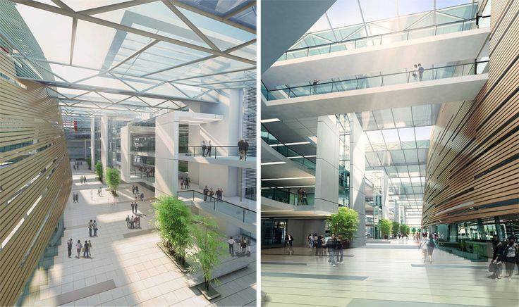 modern hospitals inside lobby Google Search Hospital
