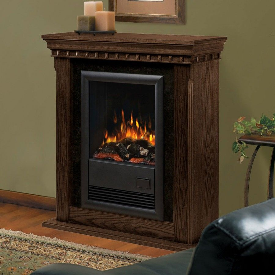 Dimplex Bravado II Electric Fireplace in Nutmeg DFPN