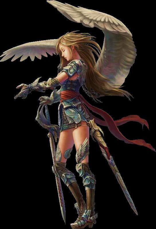 Tube Femme Guerriere Anime Angel Warrior Aasimar Fantasy
