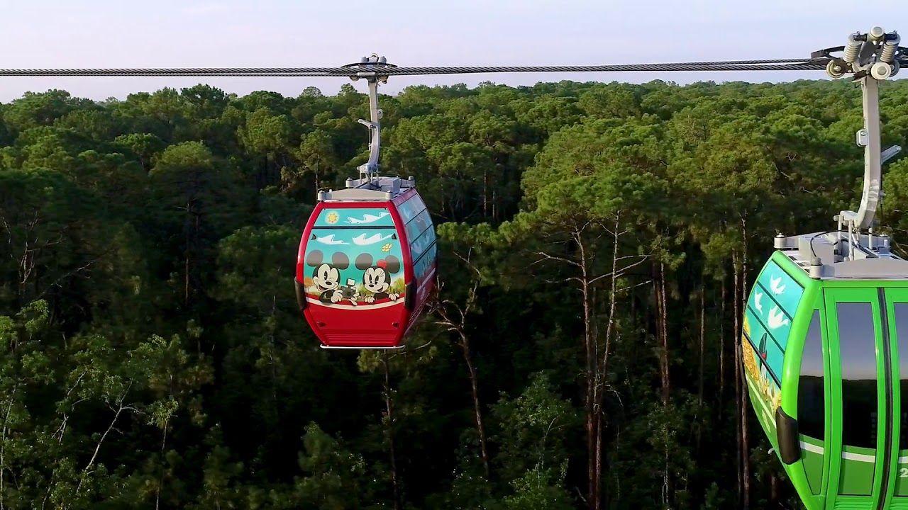 On september 29 2019 disneyskyliner gondolas will take