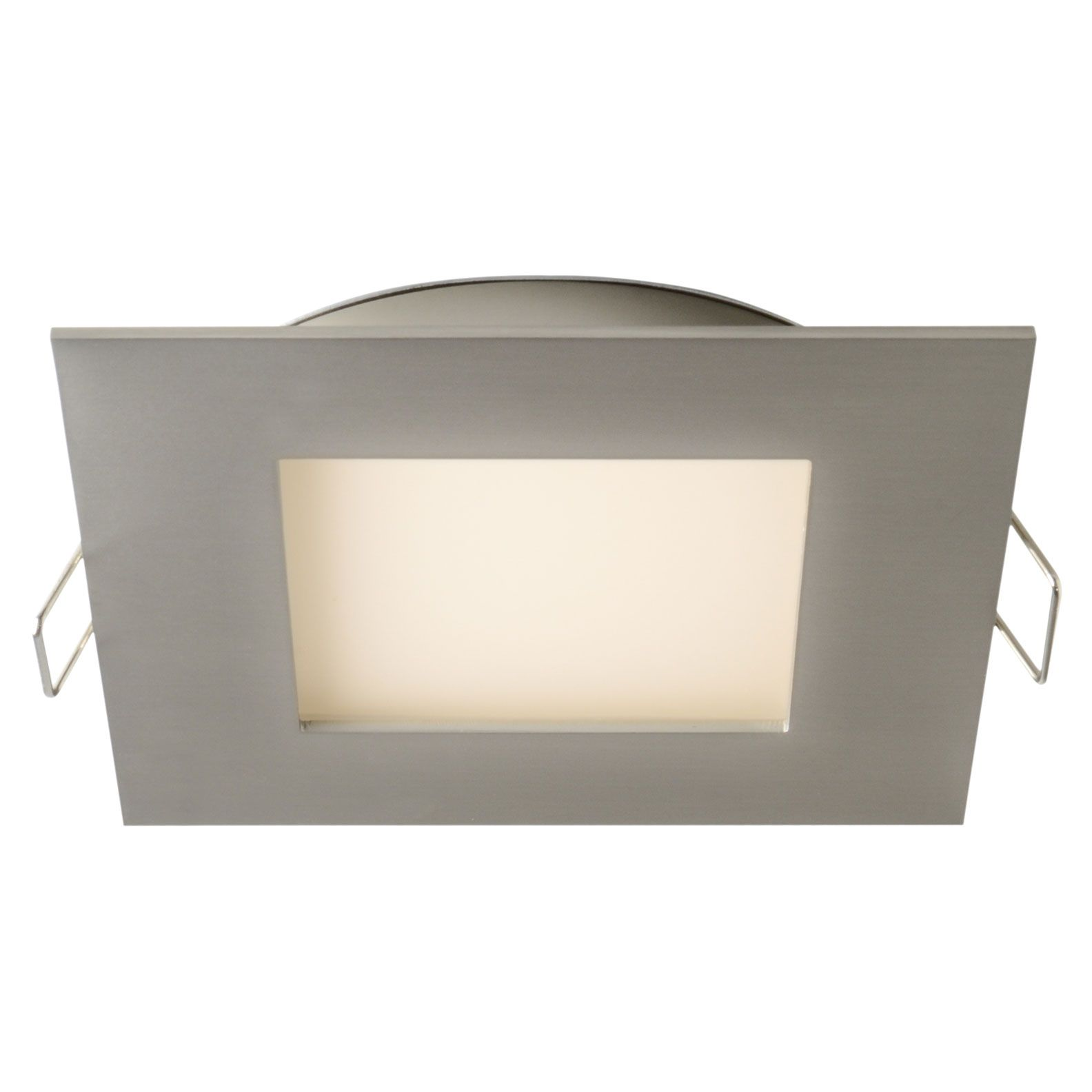 Pro Series 4 Inch Square Recessed Panel Light By Dals Lighting 7004 Sq Sn Lighting Light Recessed Ceiling