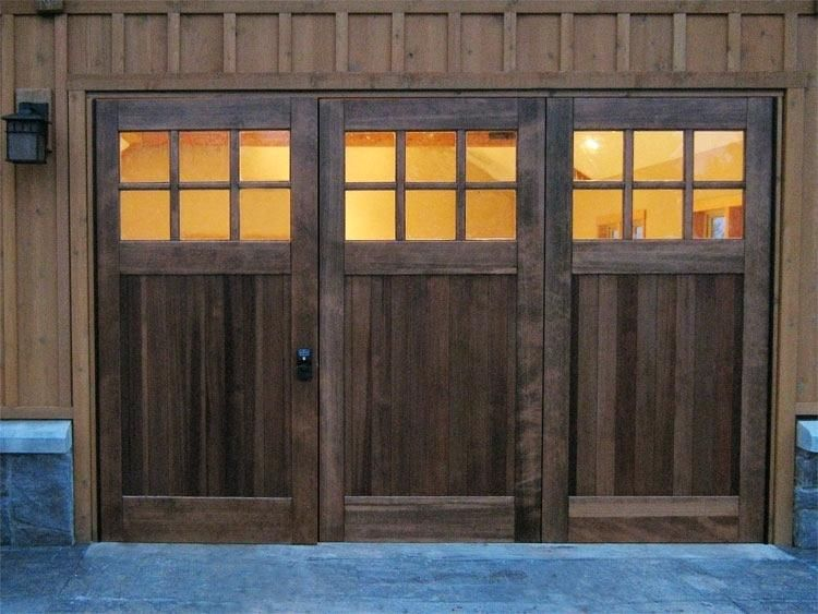 Tri Fold Door Fold Garage Doors On Amazing Home Design Trend With