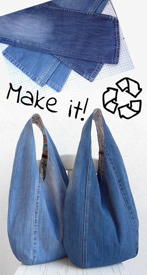 Photo of Classic hobo bag – Make it in denim