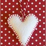 Felt heart - by Craft & Creativity