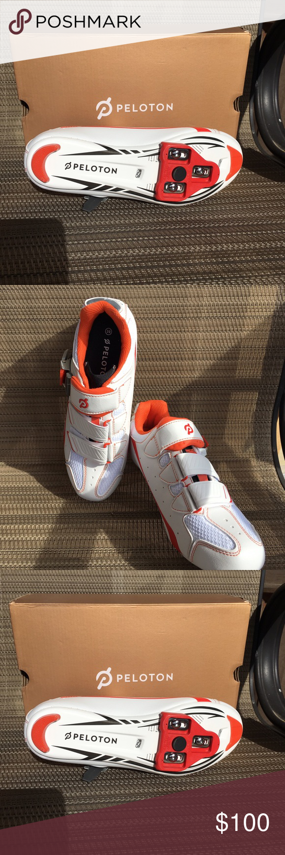 Peloton Cycling Shoes Brand New Cycling Shoes From Peloton In