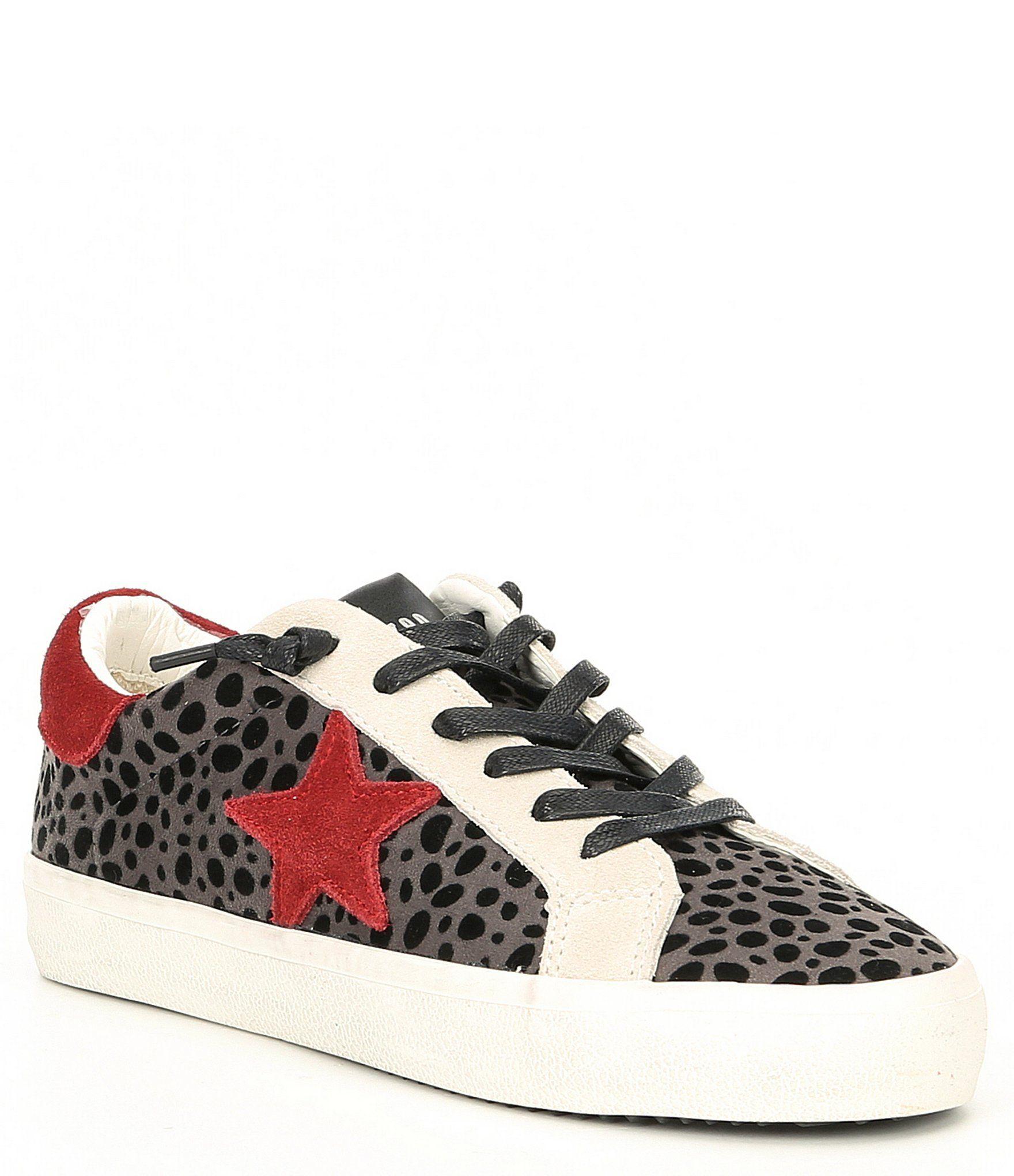 Steve Madden Philosophy Cheetah Star Print Sneakers Grey Multi 7 5m In 2021 Print Sneakers Star Print Splendid Shoes