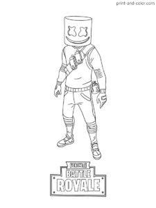 Fortnite Coloring Pages Print And Color Com Надо