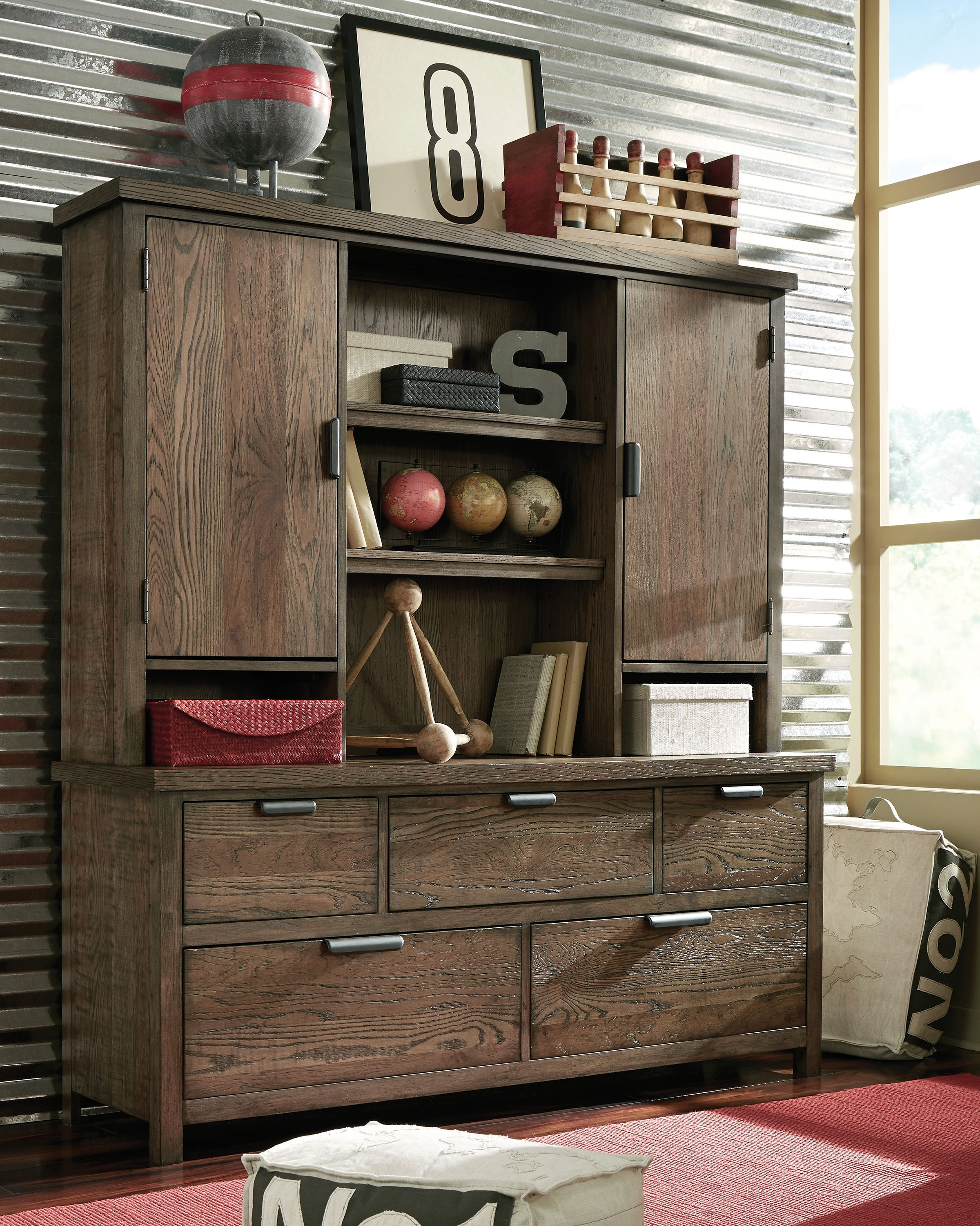 Fulton County Dresser with Hutch Legacy Classic Furniture