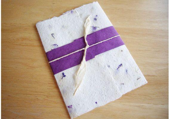 Handmade Seeded Paper Wedding Invitation Seeds By Bizzibeestudio