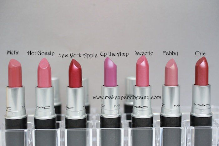 All MAC Lipsticks Photos and Swatches | my lips | Mac ...