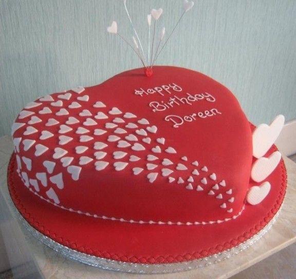 Torta A Forma Di Cuore Torták Pinterest Cake Birthday Cake és