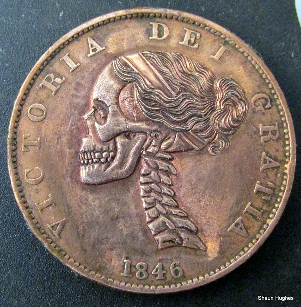 Shaun Hughes Hobo Nickels Hobo Nickel Coin Art Coin