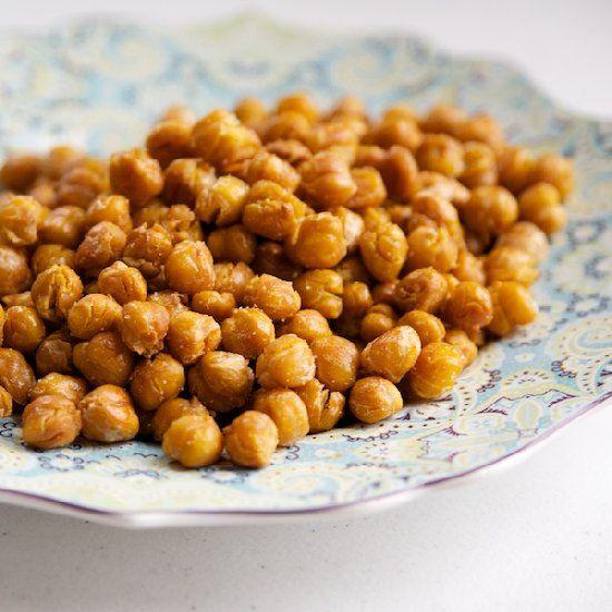 Crunchy Chickpeas - super easy, super healthy.