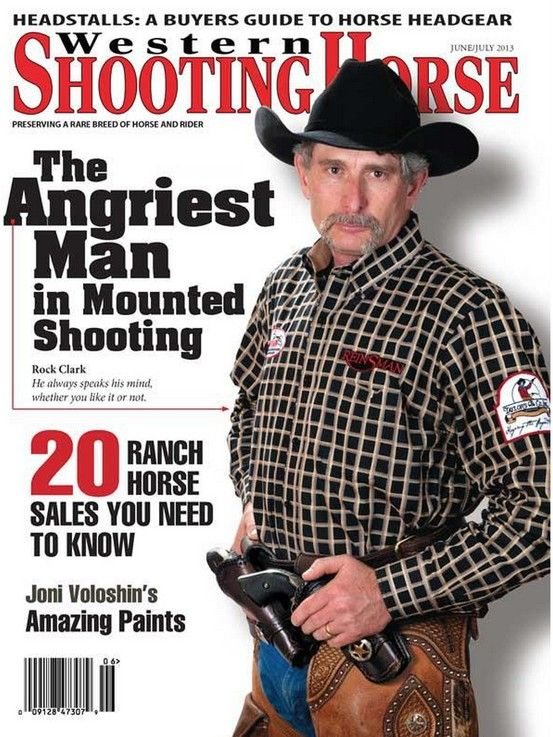 Our City Slicker western shirt on the cover of Western ...