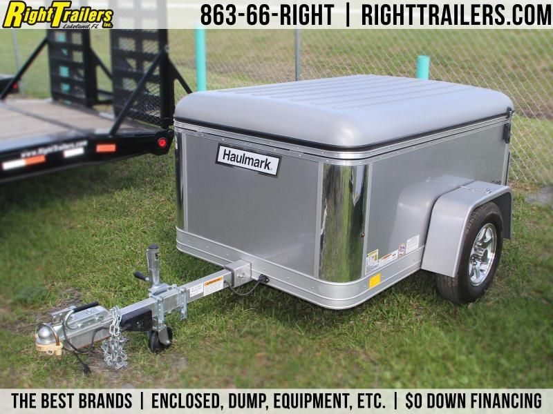 4x6 Enclosed Trailer >> Used 4x6 Haulmark Flex Enclosed Trailer Trailers In 2019 Dump