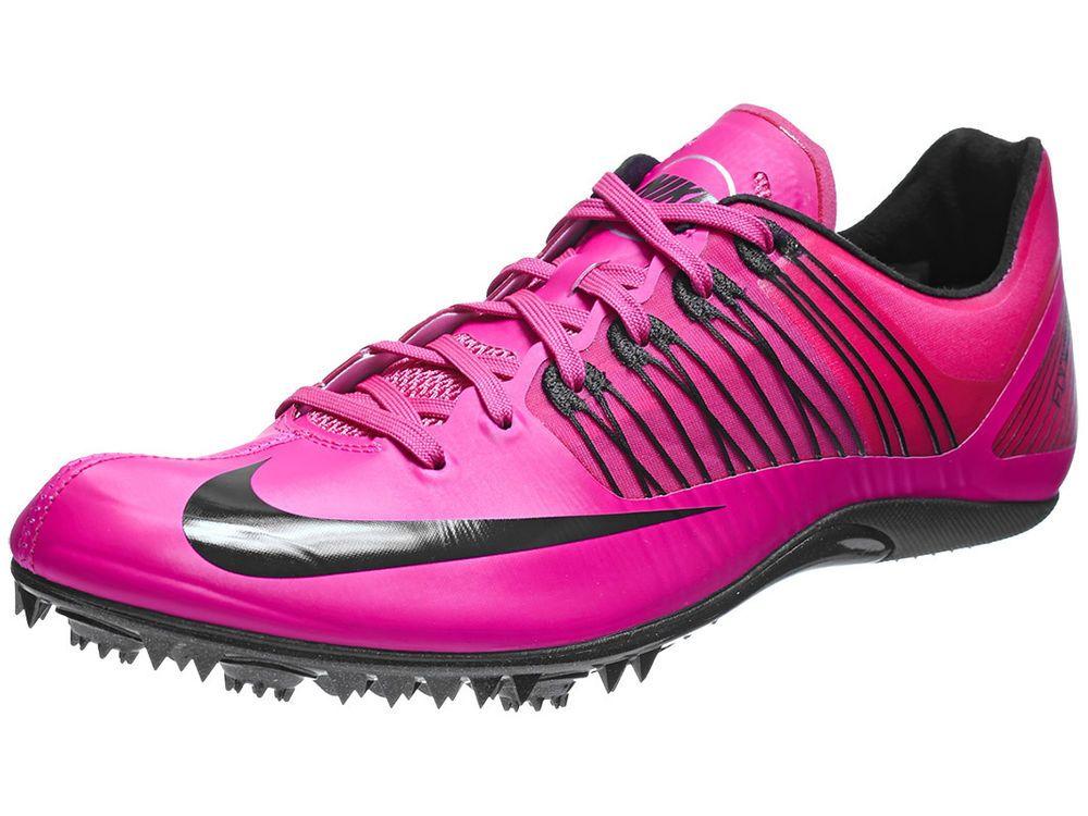 new product a13af 3490b New Mens Nike Zoom Celer 5 Sprinters Track Spikes Size 14 Pink FoilBlack  Nike SprintersTrackSpikes