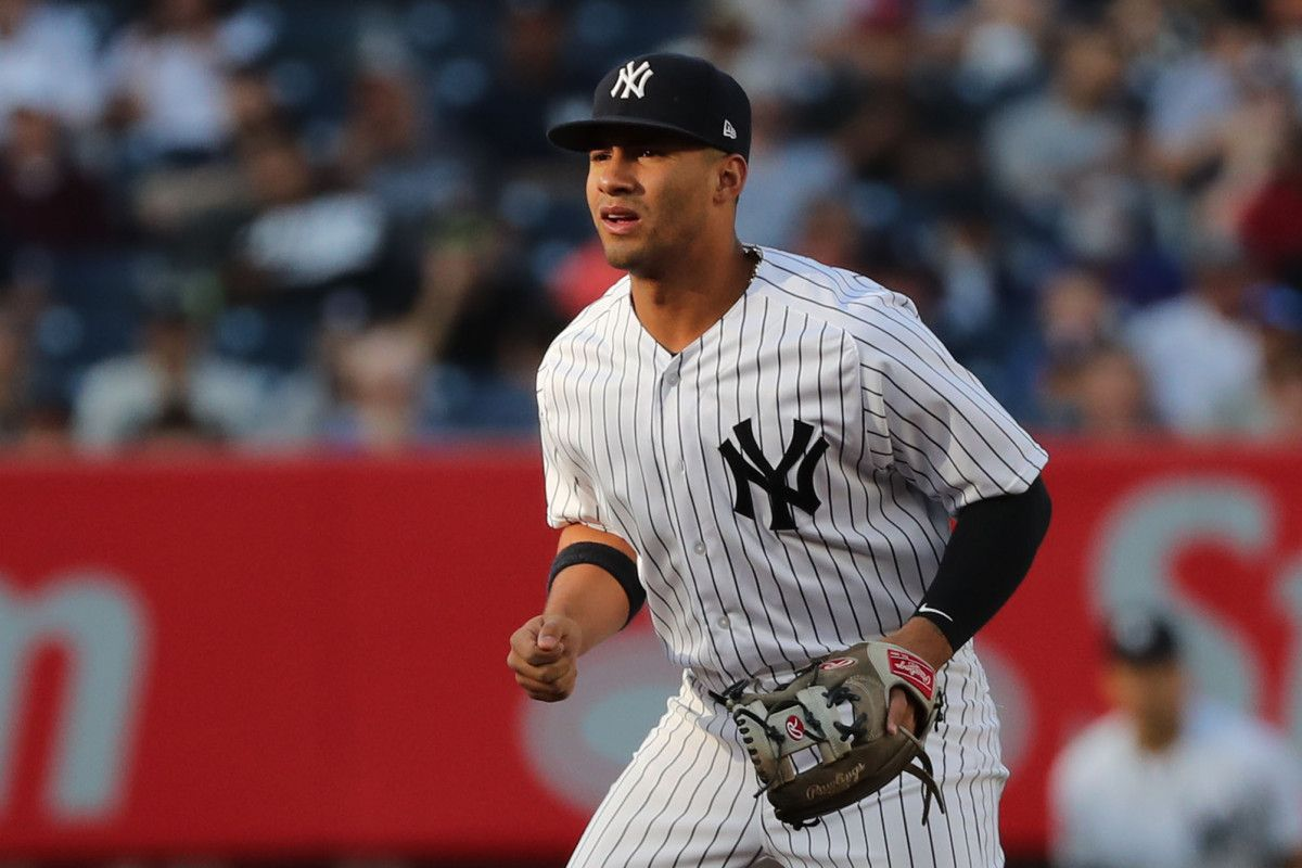 Yankees Set To Try Gleyber Torres In Natural Position Gleyber Torres Mlb Yankees Major League Baseball