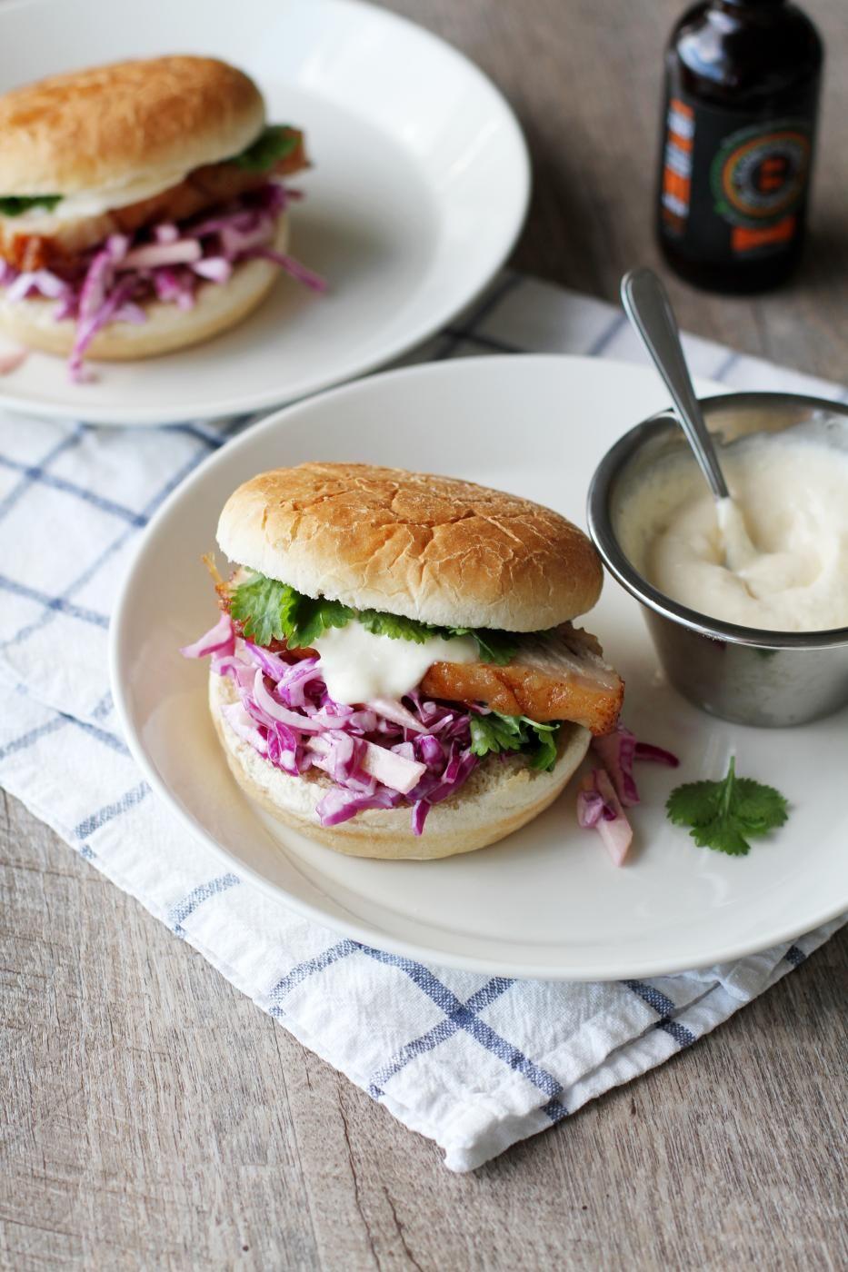 Pork Belly Sandwich (Fanni & Kaneli)