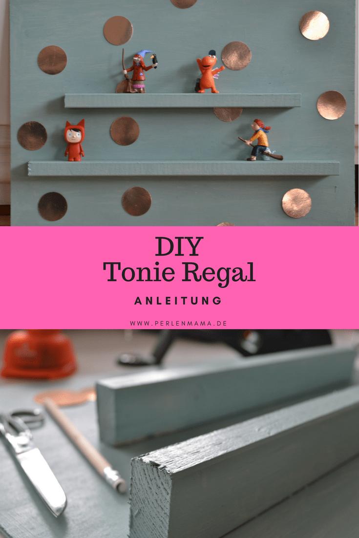 Extrem DIY Anleitung: Wir bauen ein Tonie Regal | Perlenmama | Regal WJ27