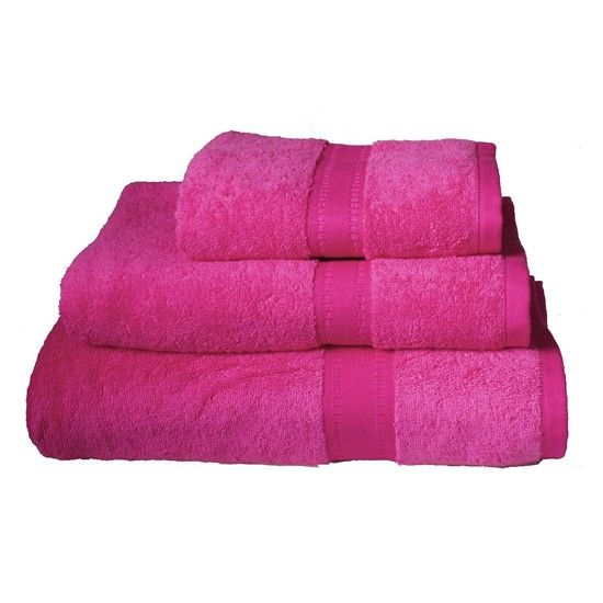 Hot Pink Towels Bathroom Egyptian Cotton From Astons Of London Bath Linen 10
