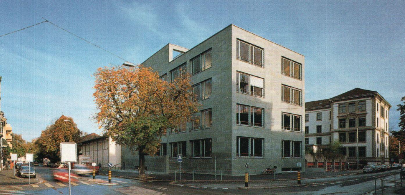 Vogesenschulhaus, Basel 1994 Architekt: Diener & Diener