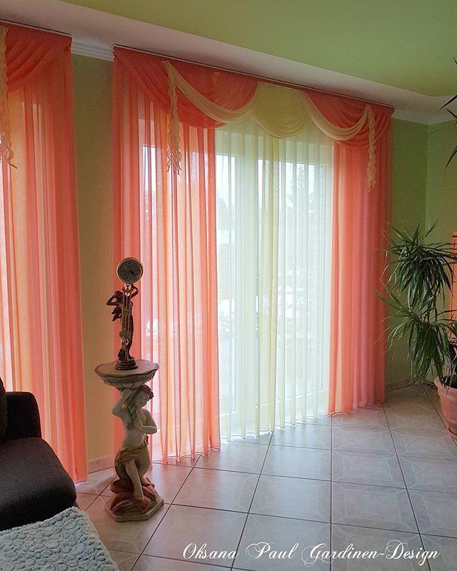 Wohnzimmer #decoration #decor #design #шторы #дизайнинтерьера - design gardinen wohnzimmer