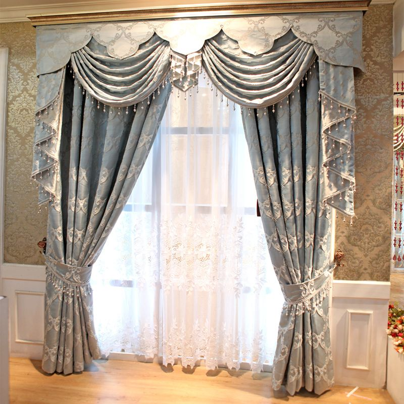 Iraq Mantle Nepal The European Modern Simplicity Cotton Holes Living Room Bedroom Curtains