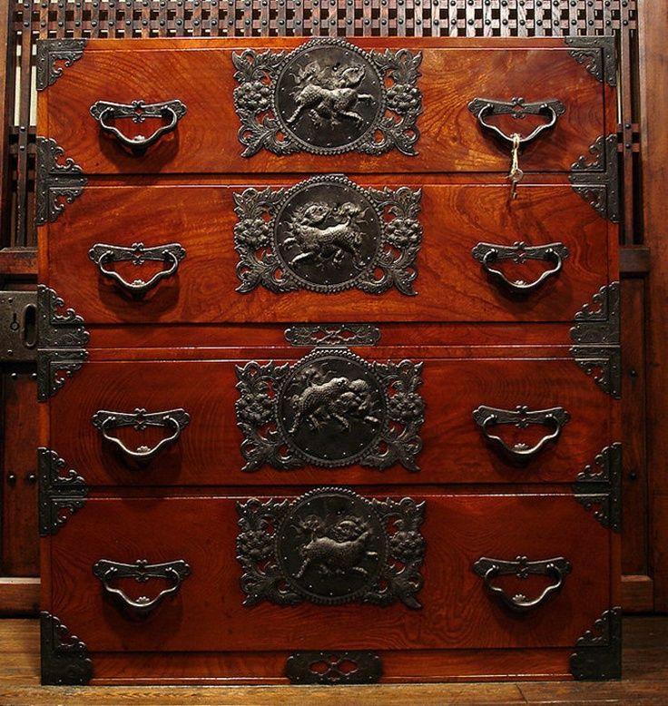 Sendai Tansu Japanese Furniture Japanese Antiques Asian Decor
