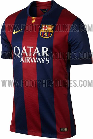 eba394fa41ce3 FC Barcelona 14-15 (2014-15) Home and Away Kits leaked!