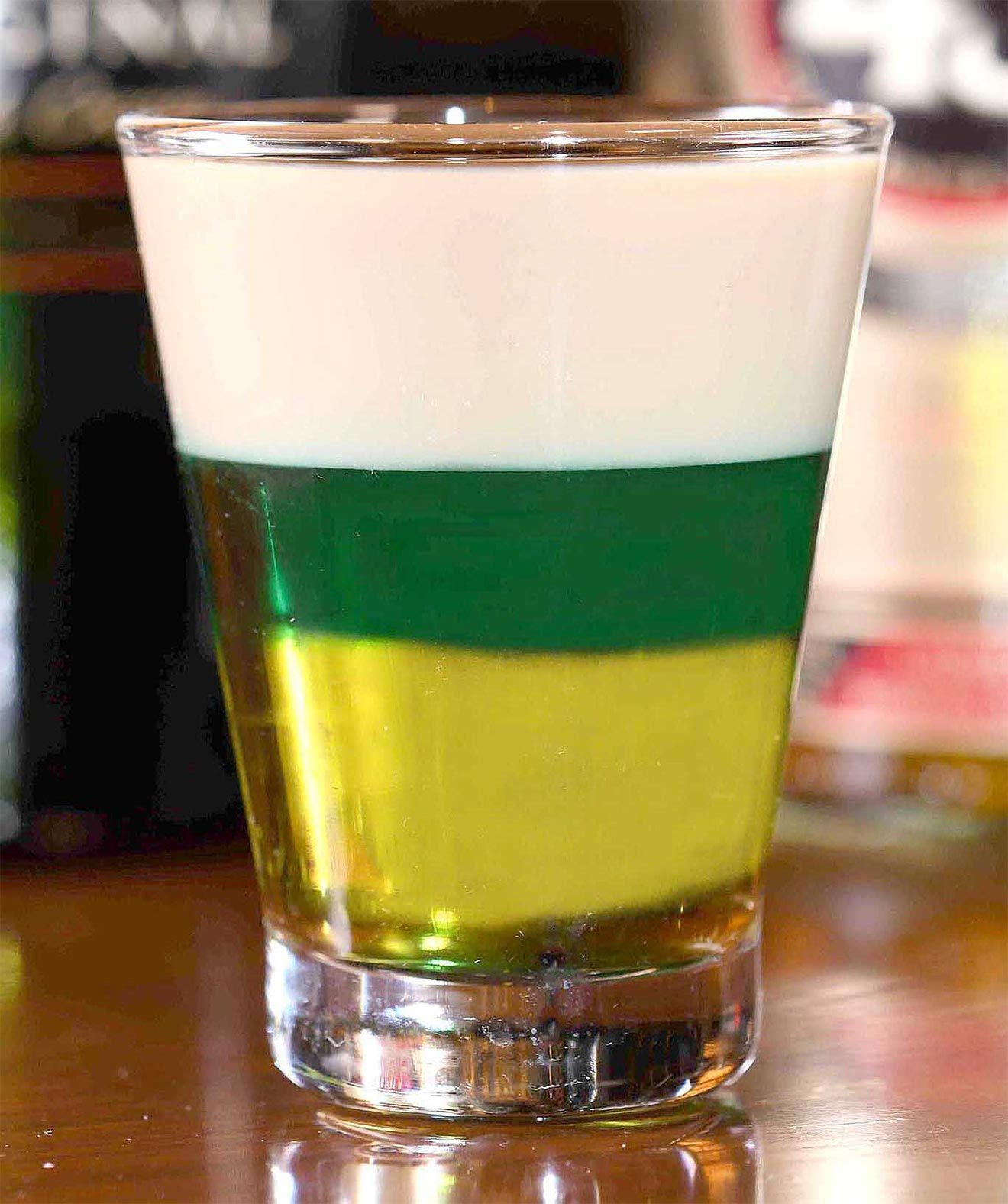 Irish Flag Shot from Hotel Casino & Spa Irish