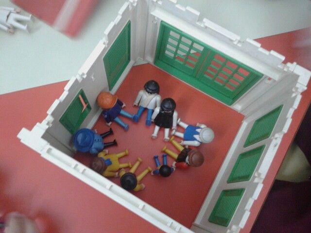 Playmobil siendo jugados otra vez