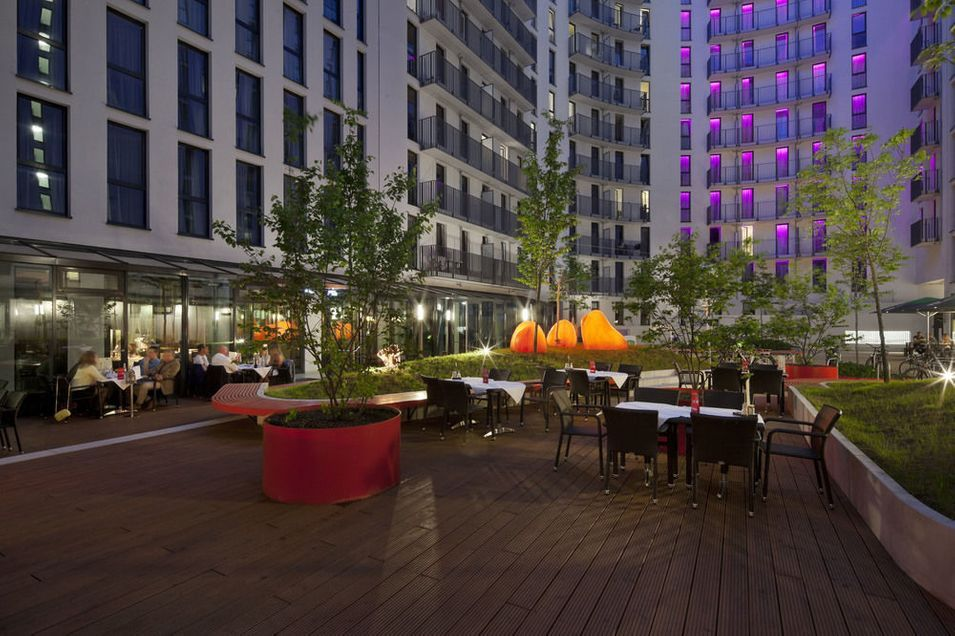 With A Stay At Hotel Indigo Berlin Alexanderplatz You Ll Be Centrally Located In Berlin Just A 5 Minute Walk From Alexanderpl Berlin Hotel Berlin Holidays Berlin